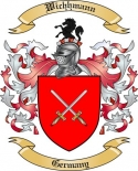 Wichhmann Family Crest from Germany2