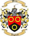 Wicke Family Coat of Arms from England
