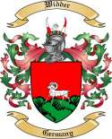 Widder Family Crest from Germany