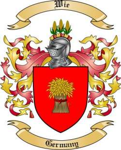 Wie Family Crest from Germany