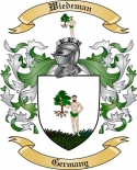 Wiedeman Family Crest from Germany