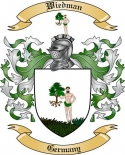 Wiedman Family Coat of Arms from Germany