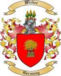 Wieker Family Coat of Arms from Germany