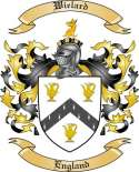 Wielard Family Crest from England