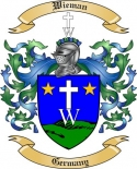 Wieman Family Crest from Germany3