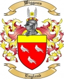 Wiggans Family Crest from England
