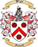 Wight Family Coat of Arms from Ireland