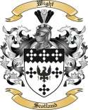 Wight Family Coat of Arms from Scotland