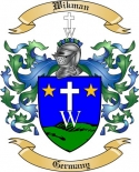 Wikman Family Crest from Germany