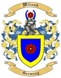 Wiland Family Crest from Germany