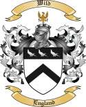 Wild Family Crest from England
