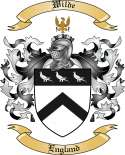 Wilde Family Coat of Arms from England