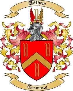 Wilhem Family Crest from Germany
