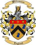 Wiliamson Family Coat of Arms from England
