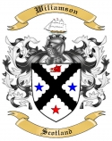 Wiliamson Family Coat of Arms from Scotland
