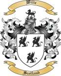 Wilie Family Crest from Scotland