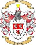 Wilis Family Coat of Arms from England2