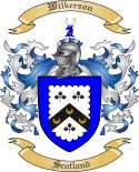 Wilkerson Family Crest from Scotland