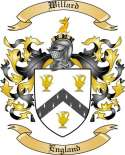 Willard Family Coat of Arms from England