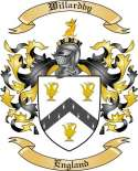 Willardby Family Crest from England