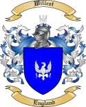 Willcot Family Coat of Arms from England