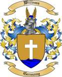 Willems Family Crest from Germany2