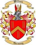 Willems Family Crest from Germany