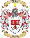 Willes Family Coat of Arms from England2