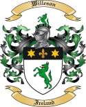 Willeson Family Coat of Arms from Ireland