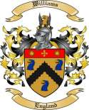 Williams Family Crest from England2