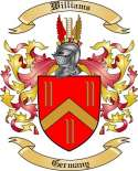 Williams Family Crest from Germany
