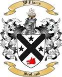 Williams Family Crest from Scotland