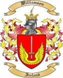 Williamson Family Coat of Arms from Ireland