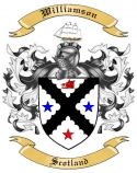 Williamson Family Coat of Arms from Scotland