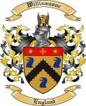 Williamsone Family Crest from England