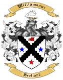 Williamsone Family Crest from Scotland