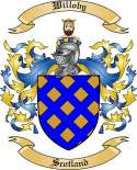 Willoby Family Crest from Scotland