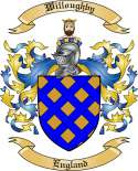 Willoughby Family Crest from England