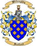 Willoughby Family Crest from Scotland
