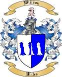Willson Family Crest from Wales