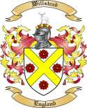 Willstead Family Crest from England