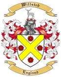 Willsted Family Crest from England