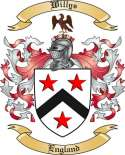 Willys Family Crest from England