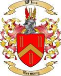 Wilms Family Crest from Germany