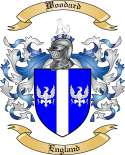 Woodard Family Coat of Arms from England2