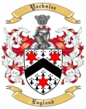Yackslee Family Crest from England