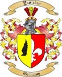 Yanicken Family Crest from Germany