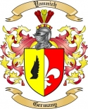 Yannich Family Crest from Germany