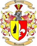 Yannick Family Coat of Arms from Germany