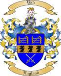 Yate Family Coat of Arms from England